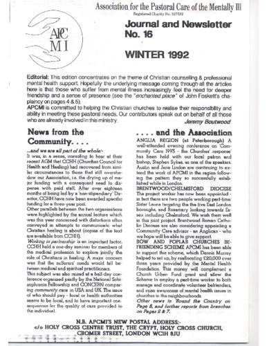 Winter 1992